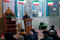 جشن انقلاب در مساجد شهر دستگرد به روایت تصویر