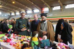 افتتاحیه نمایشگاه مشاغل خانگی و صنایع دستی در دولت آباد برخوار+ تصاویر