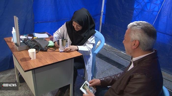 ارائه خدمات پزشکی رایگان به اهالی سین