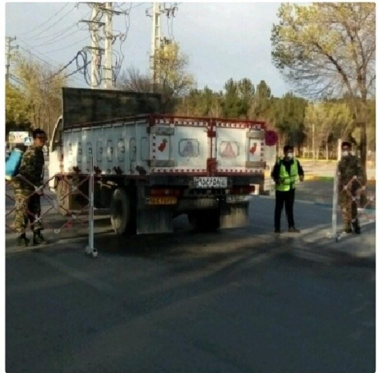 طرح عدم ورود خودروهای غیربومی به شهرستان برگزار شد+تصاویر