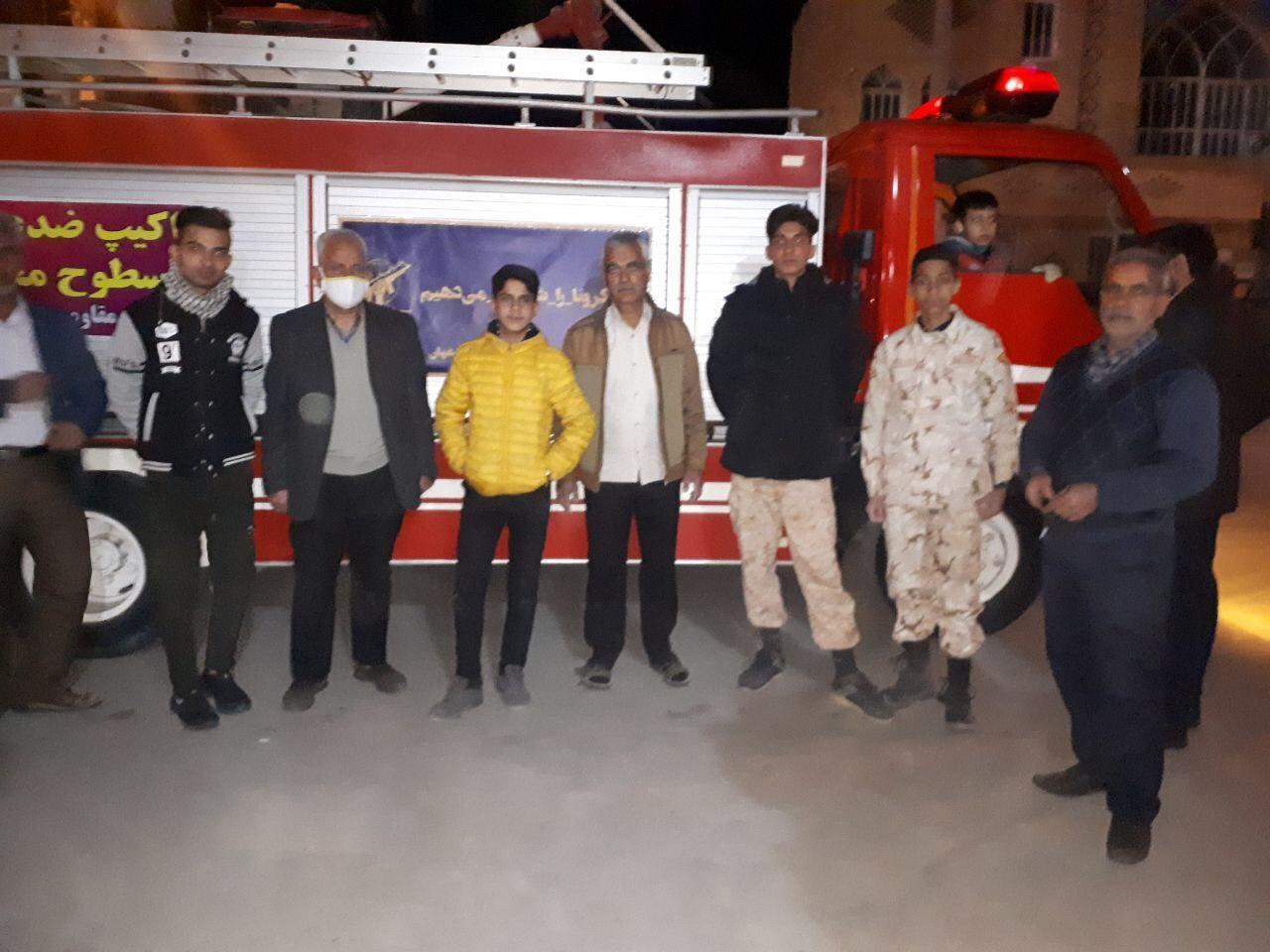اقدامات گروه جهادی پایگاه شهیدغفاری محله لودریچه