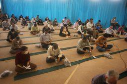 نجوای عارفانه مردم برخوار در روز عرفه/تصاویر