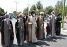 قافله پیاده روی روز عیدغدیر در دولت آباد به روایت تصاویر