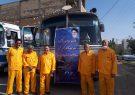مراسم استقبال از کاروان نمادین آزادگان شهرستان برگزار شد|تصاویر