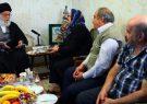 خوشحالی خانواده شهید مسیحی از ملاقات با رهبرانقلاب