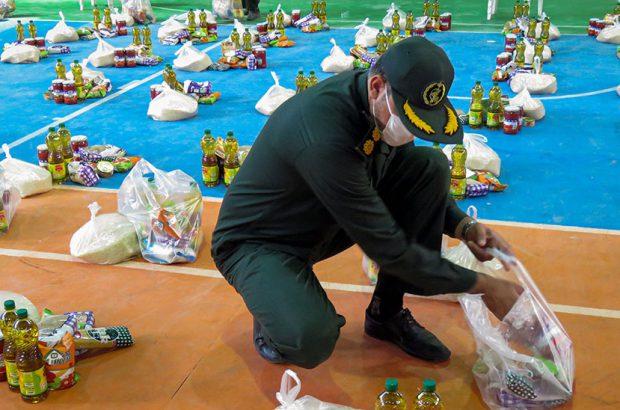 ادامه سومین مرحله کمک مومنانه با توزیع ۲۵۰ بسته معیشتی در برخوار