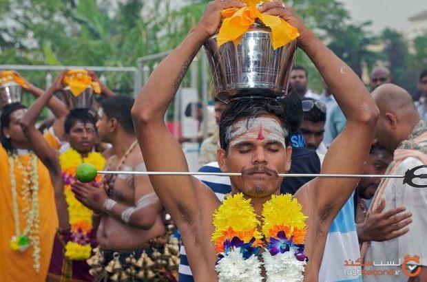 عجیب ترین مراسمی که در هند برگزار میشود