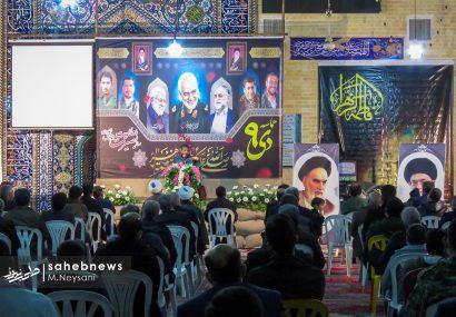 تصاویر | گرامیداشت اولین سالگرد شهادت سردار سلیمانی در کمشچه برخوار