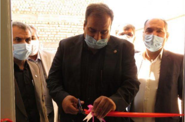 افتتاح یک واحد مسکونی برای یکی از معلولان بهزیستی در حبیب آباد
