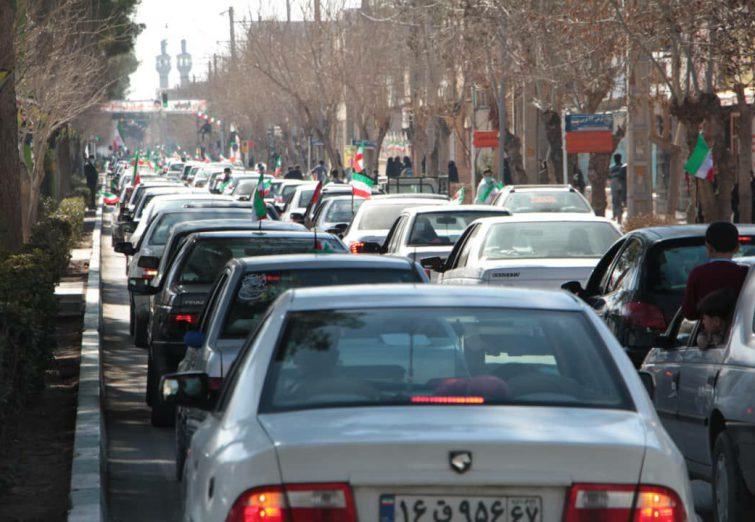 تصاویری از نکوداشت سالروز پیروزی انقلاب در دولت آباد