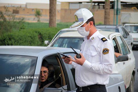 تصاویر | جلوگیری از ورود خودروهای غیربومی به شهرستان برخوار