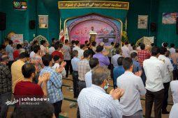 تصاویر | اقامه نماز عید قربان – آستان حضرت ابراهیم (ع)