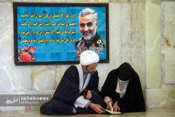 تصاویر | دعای عرفه در آستان حضرت ابراهیم بن موسی بن جعفر (ع) نرمی