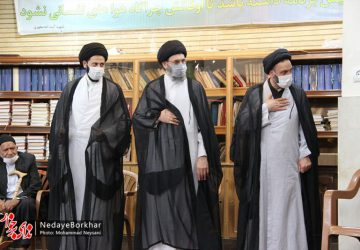 مراسم یادبود امام جمعه سابق دولت آباد برگزار شد + تصاویر
