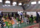 افتتاح اولین مرکز واکسیناسیون تجمیعی در برخوار
