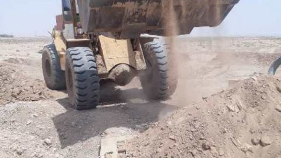2 حلقه چاه غیرمجاز در برخوار پر و مسدود شد